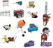 Прокат,  аренда строительного оборудования и техники. Садового и электро,  бензо,  аккумуляторного,  измерительного,  пневматического,  ручного инструмента. Чебоксары. Доставка