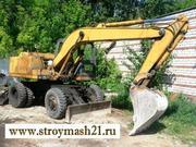 Экскаватор колёсный ЕК-12,  б/у