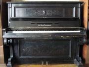 Продам старинное пианино Jul. Heinr. Zimmermann