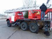 Пожарный автомобиль АЛ-30 (131)